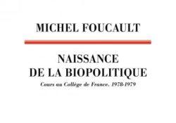 livre de Michel Foucault