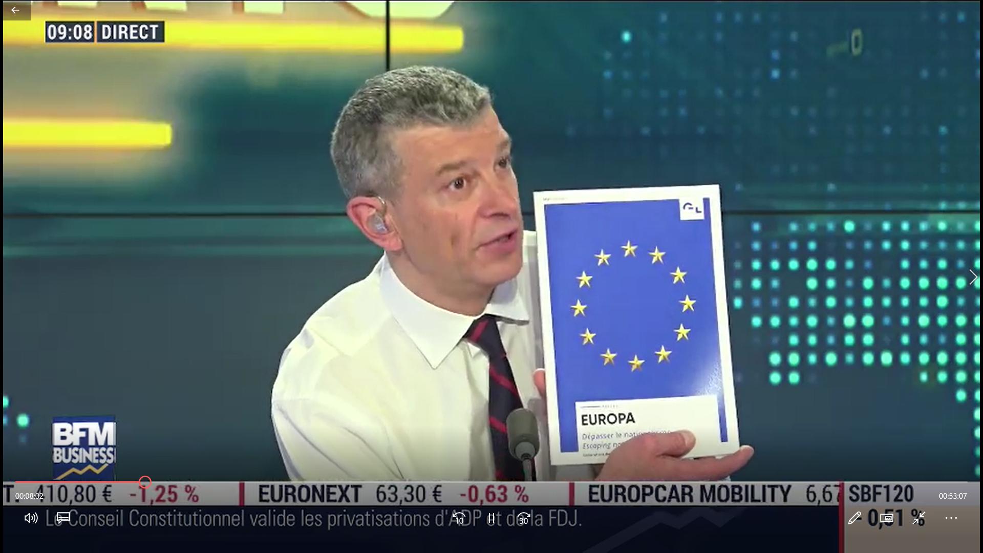 Le regard européen de Maxime sur BFM Business