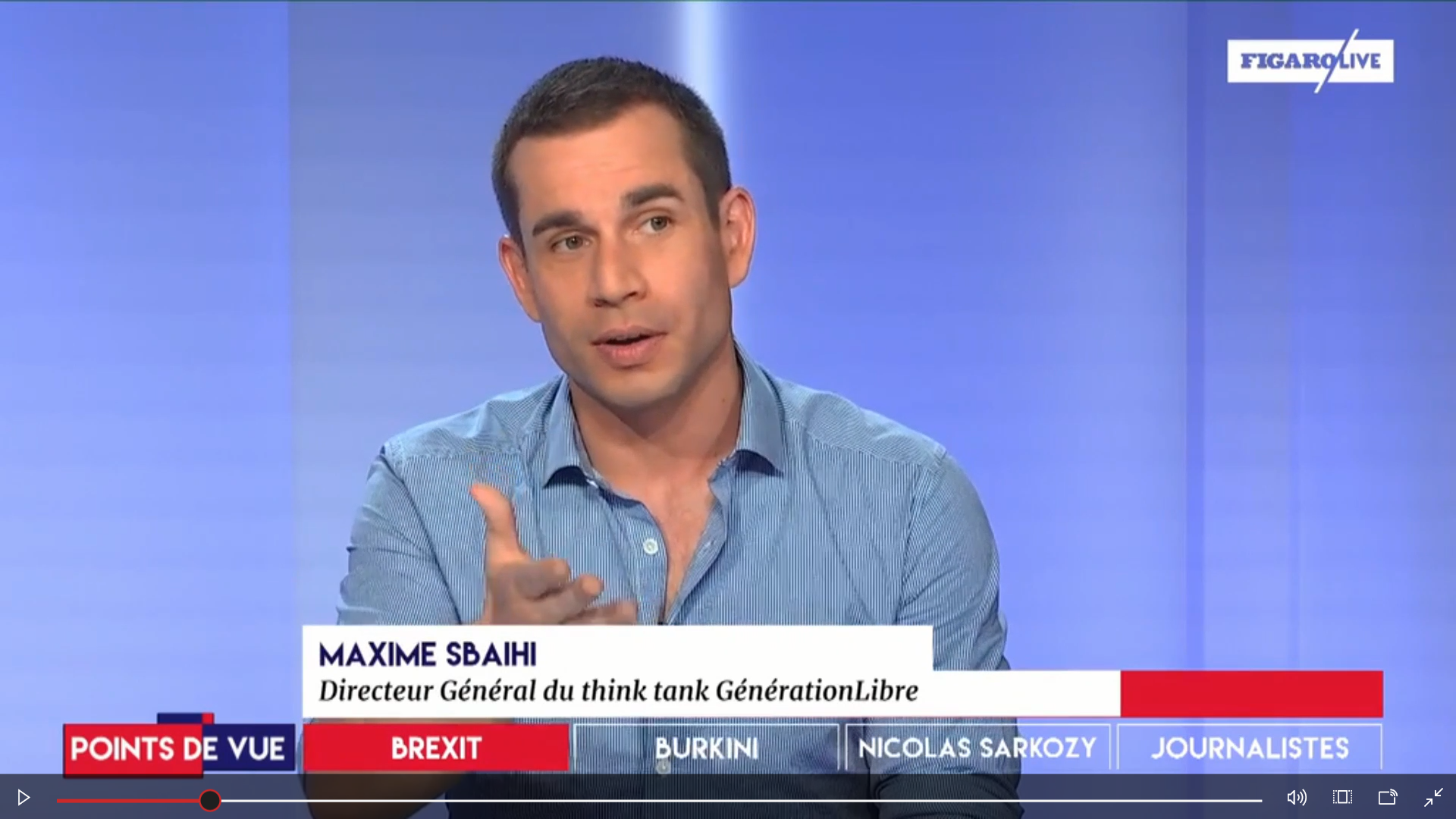 Brexit, Burkini, Sarkozy, Ordre des journalistes : le point de vue de Maxime