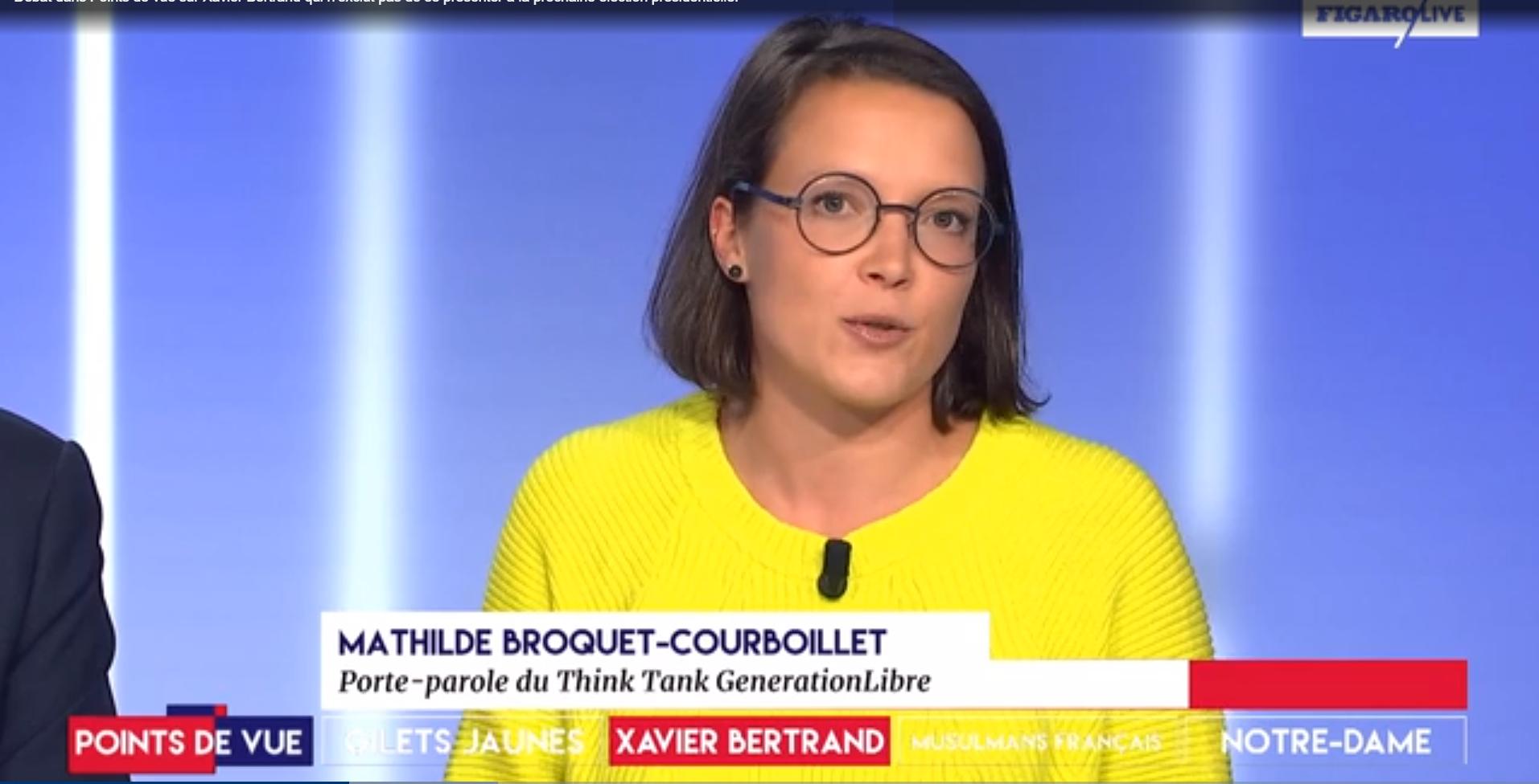 Mathilde voit jaune