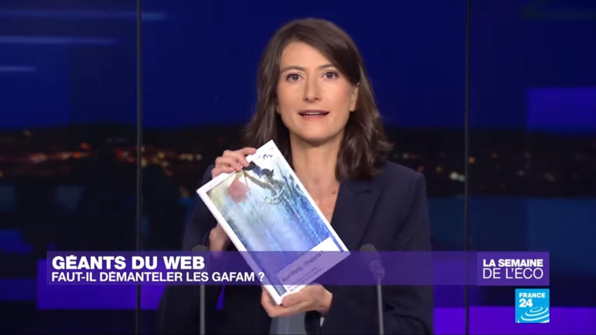 Maxime chez Karina Chabour sur France24