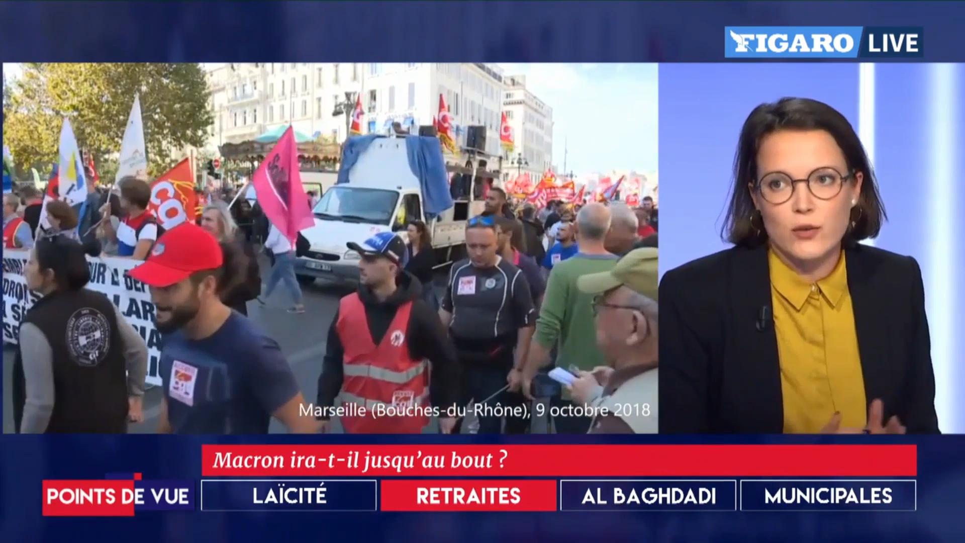 Le regard de Mathilde sur l'actualité politique